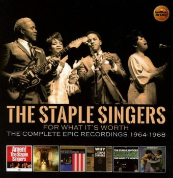 The Staple Singers - For What It's Worth: The Complete Epic Recordings 1964-1968 [3CD Box Set] (2018)