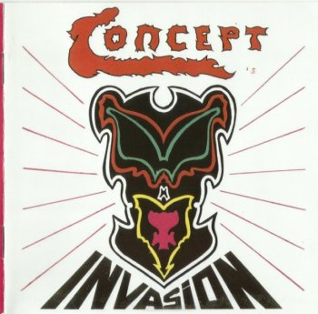 Concept - Invasion (1979) (Remastered, 2008)