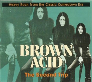 V.A. - Brown Acid / The Second Trip (1970-78) (DigiPak, 2016)