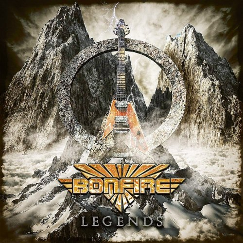 Bonfire - Legends [2CD] (2018)