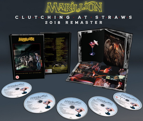 Marillion: 1987 Clutching At Straws - 5-Disc Box Set Parlophone Records 2018