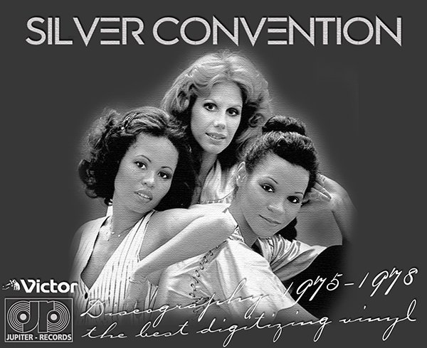 SILVER CONVENTION «Discography on vinyl» (5 x LP • Atlantic Recording Corporation • 1975-1978)
