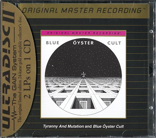 BLUE OYSTER CULT «Blue Oyster Cult / Tyranny and Mutation» (US 1999 MFSL • UDCD 738)