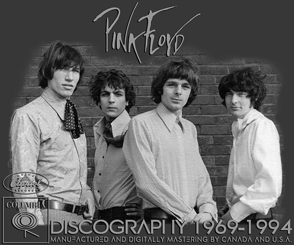 PINK FLOYD «Discography» (12 x CD • Canada & US 1st Press • 1983-1994)