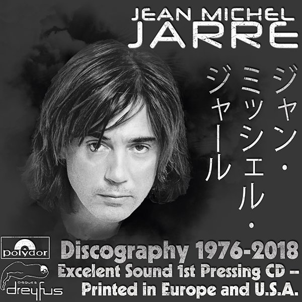JEAN-MICHEL JARRE «Discography» (25 x CD • Disques Dreyfus • 1976-2018)