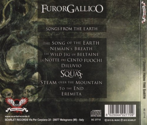 Furor Gallico - Songs From The Earth (2015)
