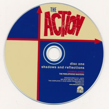 The Action: 2018 Shadows And Reflections - 4CD Box Set Cherry Grapefruit Records