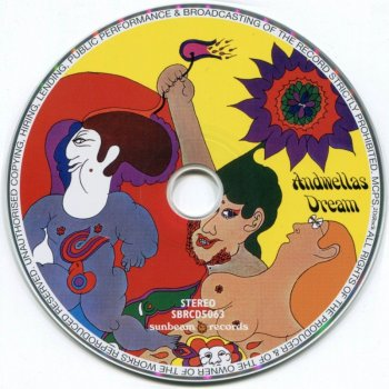 Andwellas Dream - Love And Poetry (1969) Remastered (2009)