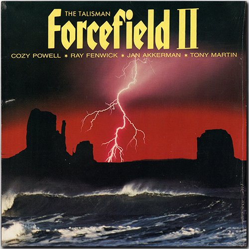 COZY POWELL + FORCEFIELD «Discography on vinyl» (7 x LP • PolyGram Inc. • 1979-1990)