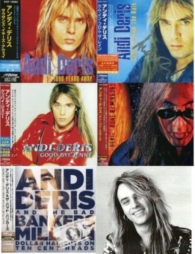 Andi Deris - Japanese Editions Discography (1997-2013) [5CD]
