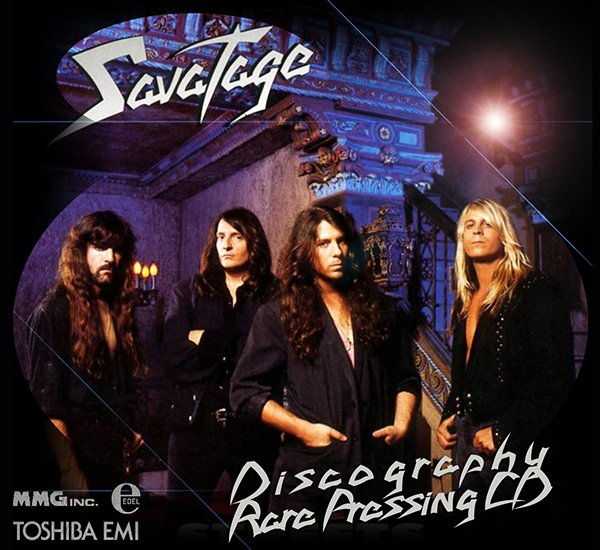 SAVATAGE «Discography» + bonus (17 x CD • Rare Pressing • 1983-2013)