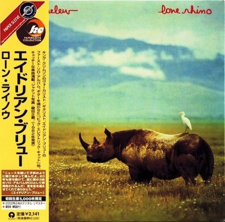 Adrian Belew - Lone Rhino (1982) [Japan Press 2001]