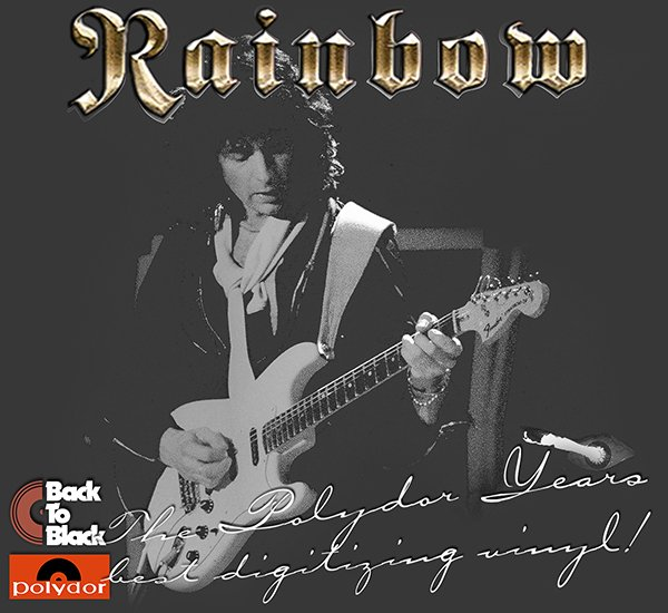 RAINBOW «The Polydor Years» (9 x LP • Polydor Records Ltd. • Remastered 2014)