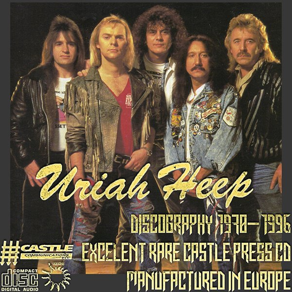 URIAH HEEP «Discography 1970-1996» (21 x CD • CASTLE Classic Series • Issue 1986-1996)