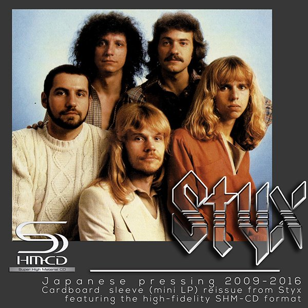 STYX «Discography 1972-1990» (12 x SHM-CD Universal International, Japan • 2009, 2016)