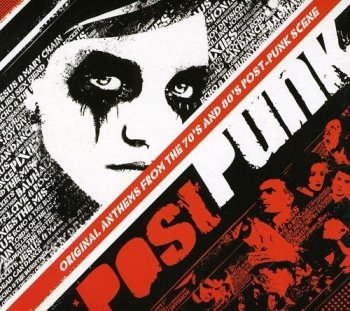 VA - Post Punk - Original Anthems From The 70's And 80's Post-Punk Scene [3CD Box Set] (2009)