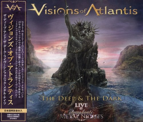 Visions Of Atlantis - The Deep & The Dark Live @ Symphonic Metal Nights [Japanese Edition] (2019)
