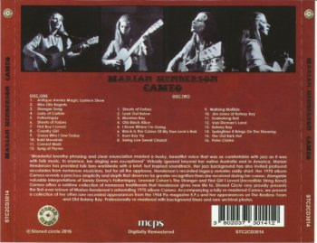 Marian Henderson - Cameo (1970) (Remastered, 2016) 2CD