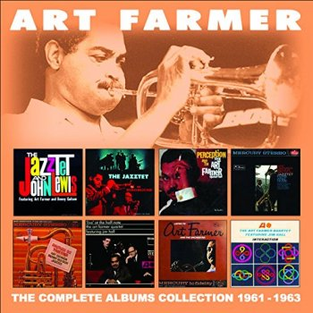 Art Farmer - The Complete Albums Collection 1961-1963 (4CD, 2016)