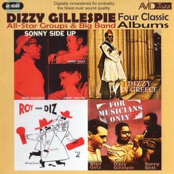 Dizzy Gillespie All-Star Groups & Big Band - Four Classic Albums (2CD, 2011)