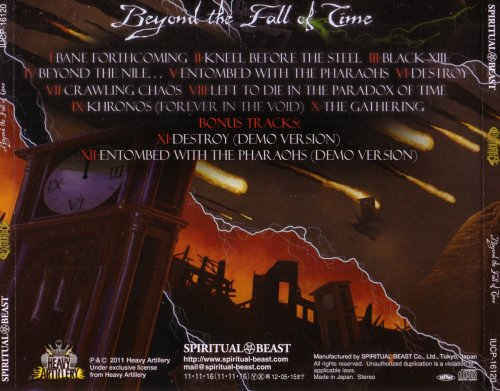 Exmortus - Beyond The Fall Of Time [Japanese Edition] (2011)