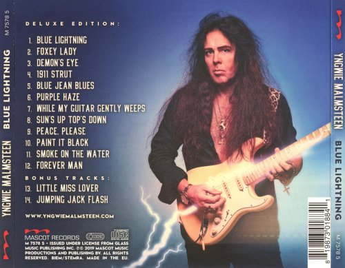 Yngwie Malmsteen - Blue Lightning [Deluxe Edition] (2019)