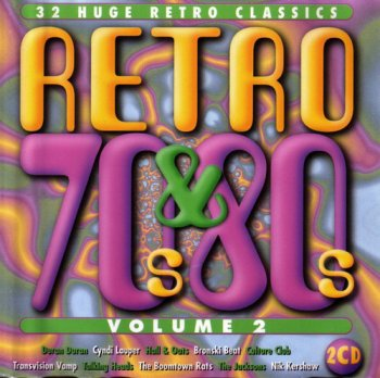 VA - Retro 70's & 80's Volume 2 [2CD Set] (1998)