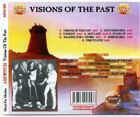 Axe Witch - Visions Of The Past (1984) [Reissue 2005]