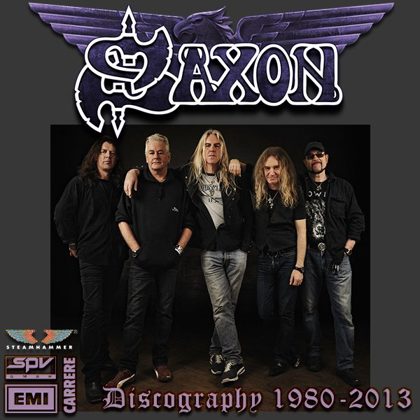 SAXON «Discography on vinyl» (20 x LP • First Press and Re-issue • 1980-2013)