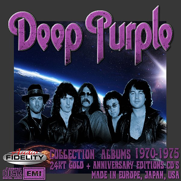 DEEP PURPLE «24KT Gold + Anniversary Edition» (21 x CD • EMI Records Ltd. • Issue 1993-2012)