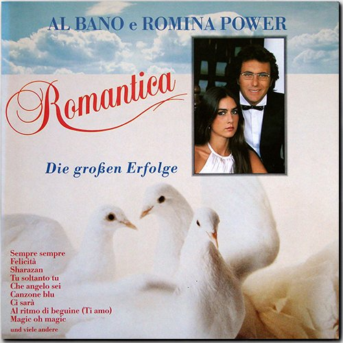 AL BANO & ROMINA POWER «Discography on vinyl» + bonus (7 x LP + 4 x CD • Baby Records Ltd. • 1982-1997)