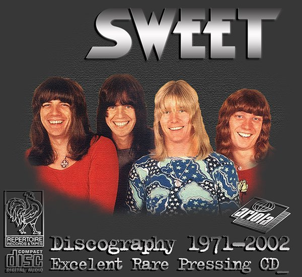 SWEET «Discography» (22 x CD • Repertoire Records Limited • 1971-2002)