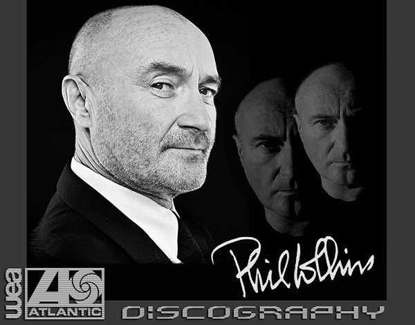 PHIL COLLINS «Discography» (13 x CD • Atlantic Recording Limited • 1981-2010)
