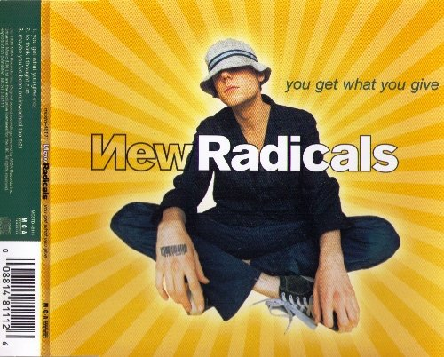 New Radicals - You Get What You Give (1999) [CDS]