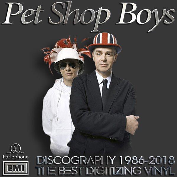 PET SHOP BOYS «Discography» + bonus (48 x LP • Parlophone Limited • 1986-2018)