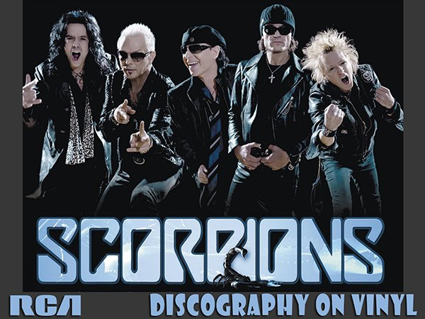 SCORPIONS «Discography on vinyl» (24 x LP • 19 albums • 1974-2015)