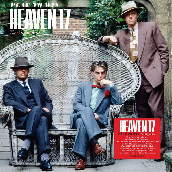Heaven 17: 2019 Play To Win / The • Virgin • Years - 10CD Book Set Edsel Records