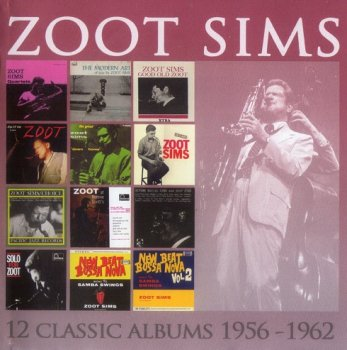 Zoot Sims - 12 Classic Albums 1956-1962 (6CD, 2015)