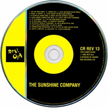 The Sunshine Company - The Sunshine Company (1967-68) (2002)
