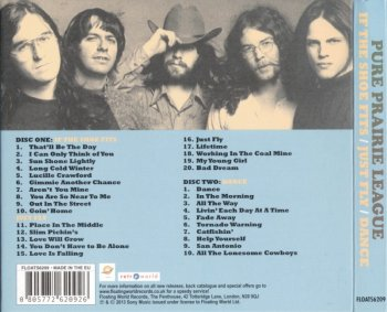 Pure Prairie League - If The Shoe Fits / Just Fly / Dance (1976-78) (2013) 2CD