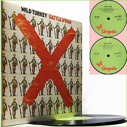 Wild Turkey -  Battle Hymn (1971) (Vinyl)