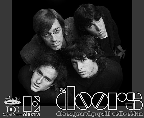 THE DOORS «Golden Collection» (8 x CD + SACD • Elektra Records Limited • 1967-2007)