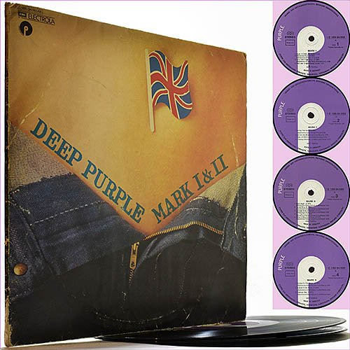 Deep Purple - Mark I and II (1973) (Vinyl Double LP)
