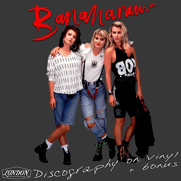 BANANARAMA «Discography on vinyl» + bonus (5 x LP + 3 × CD • London Records Ltd. • 1983-2007)
