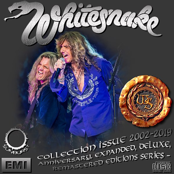 WHITESNAKE «Anniversary & Expanded Editions» (29 x CD • EMI ⁄ Frontiers Records Ltd. • Issue 2002-2019)