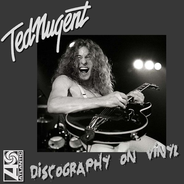 TED NUGENT & THE AMBOY DUKES «Discography on vinyl» (9 x LP • First Press • 1969-1984)