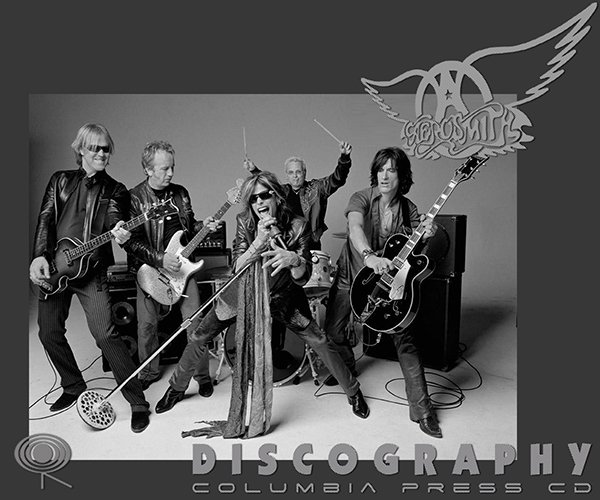 AEROSMITH «Discography» (31 x CD • Columbia Records Limited • 1973-2012)