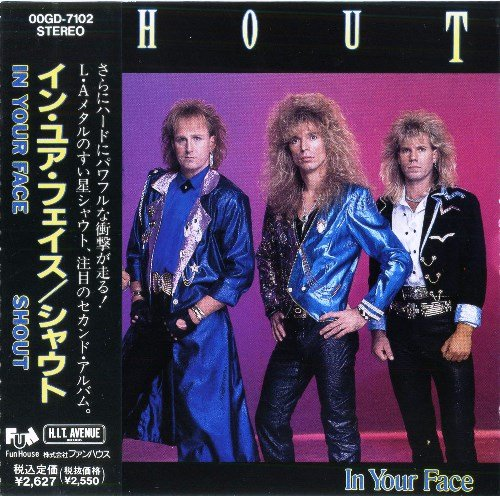 Shout - In Your Face (1989) [Japan + USA Press]