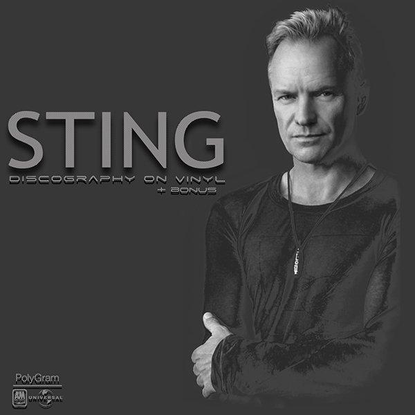 STING «Discography on vinyl» + SACD (7 x LP + 2 x SACD Universal / A&M Records, Inc. • 1985-2016)