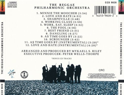 The Reggae Philharmonic Orchestra - The Reggae Philharmonic Orchestra (1988)